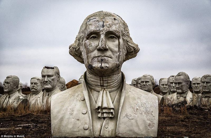 43 tượng Tổng thống Mỹ hơn 130 tỉ bị bỏ hoang