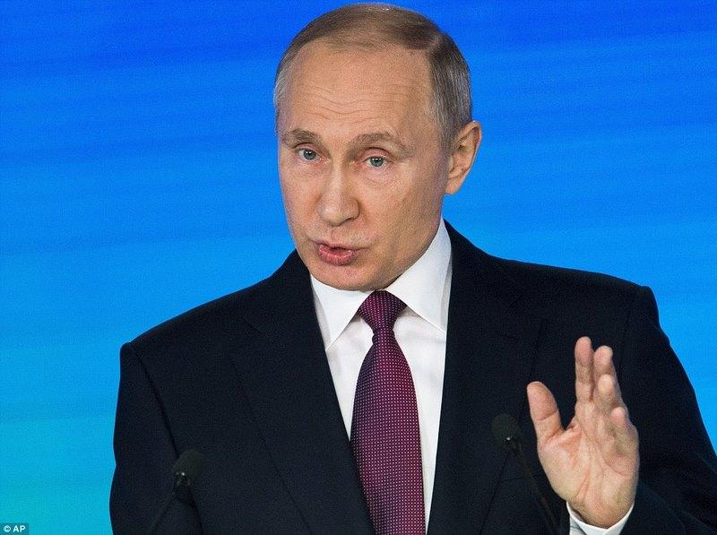 Putin công bố tên lửa hạt nhân Mỹ không thể đánh chặn