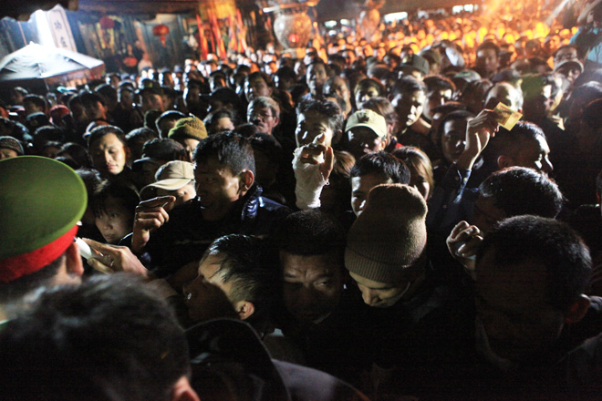 """Những hình ảnh """"không ngờ"""" tại lễ phát ấn đền Trần 2018 - 4"""