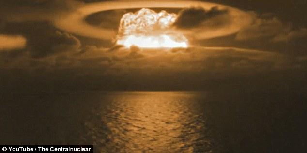 Xem bom nhiệt hạch khủng khiếp nhất lịch sử của Mỹ kích nổ