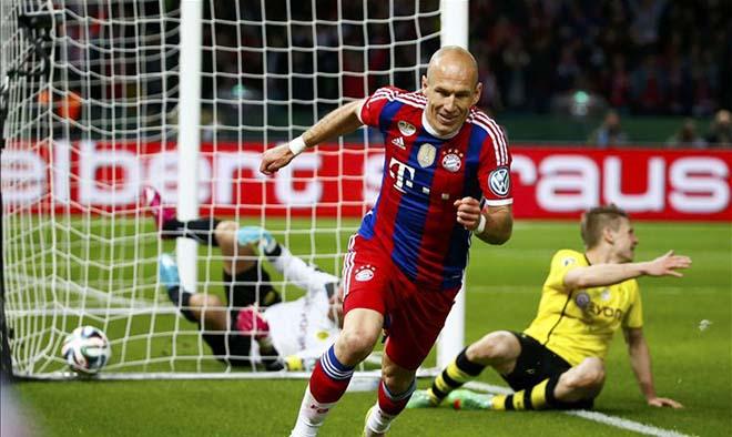Bom tấn Robben đến MU: Tiết kiệm 80 triệu bảng, khỏi cần Gareth Bale 3