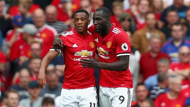 """MU tự hào: """"Song sát"""" Martial - Lukaku sánh ngang Ronaldo - Rooney vĩ đại 1"""