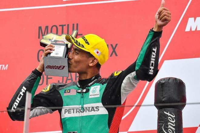 Đua xe MotoGP: Tay lái Malaysia