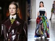 Thời trang - Vợ đẹp của tỷ phú Pháp kiêu hãnh mở màn show Versace