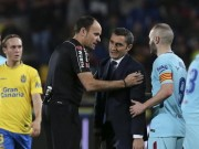 Bóng đá - Barca rơi chiến thắng: HLV Valverde lo sợ, Pique đòi tẩn trọng tài