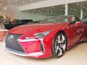 Tư vấn - Lexus LC500 trưng bày tại showroom với giá bán gần 10 tỷ đồng