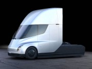 """Tư vấn - Khả năng tăng tốc """"kinh khủng"""" của siêu đầu kéo Tesla Semi"""