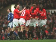 """Bóng đá - MU và mốc son chói lọi: Ngoại hạng Anh nể sợ ngày """"Quỷ đỏ"""" ghi bàn như máy"""