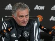 Bóng đá - Họp báo Crystal Palace - MU: Mourinho lo Top 4, mơ vào tứ kết C1