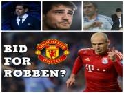 """Bóng đá - """"Bom tấn"""" Robben đến MU: Thiên đường """"dưỡng già"""", Casillas - Raul ghen tị"""