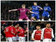 Bóng đá - Ngoại hạng Anh trước vòng 29: Thượng đỉnh Man City - Chelsea, MU thư thái