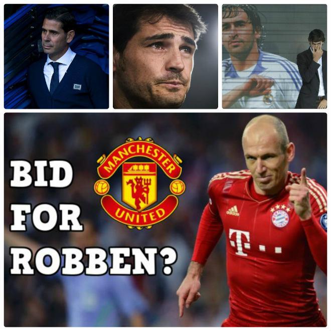 """""""Bom tấn"""" Robben đến MU: Thiên đường """"dưỡng già"""", Casillas - Raul ghen tị 2"""