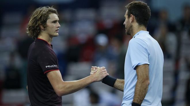 Tin thể thao HOT 3/3: Hạ Zverev, Del Potro lần thứ 31 vào chung kết ATP 1