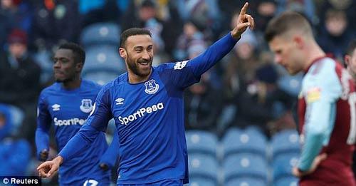 Chi tiết Burnley - Everton: Thẻ đỏ và hết hi vọng (KT) 25