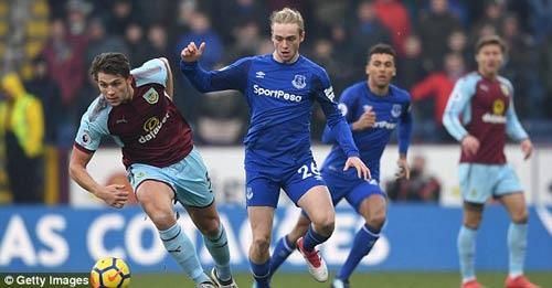 Chi tiết Burnley - Everton: Thẻ đỏ và hết hi vọng (KT) 24