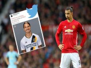 Bóng đá - HLV Mourinho xác nhận: Ibrahimovic sẽ rời MU, có thể dự World Cup 2018