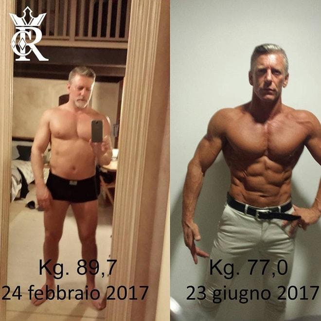 Nỗ lực sở hữu thân hình cơ bắp không thua lực sĩ của ông bố 50 tuổi