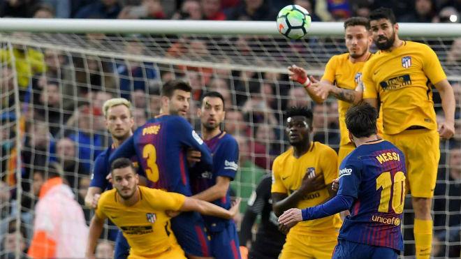Barcelona - Atletico Madrid: Siêu sao mở khóa, thoát nạn cuối trận