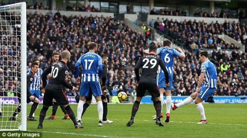 """TRỰC TIẾP Brighton - Arsenal: Aubameyang """"nổ súng"""" thổi bùng hy vọng 20"""