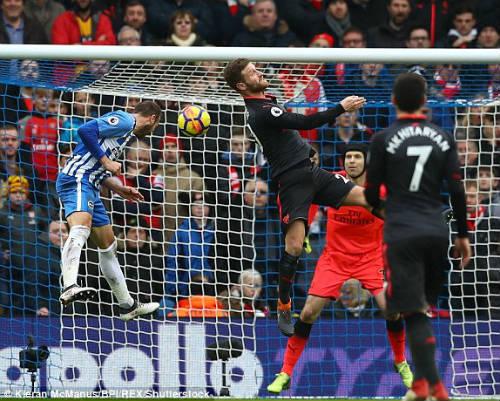 TRỰC TIẾP Brighton - Arsenal: Thảm họa đến sớm, bàn thua thứ 2 21