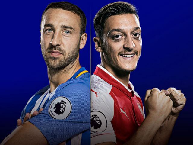 """TRỰC TIẾP bóng đá Brighton - Arsenal: 500 triệu bảng hồi sinh """"Pháo thủ"""" 19"""