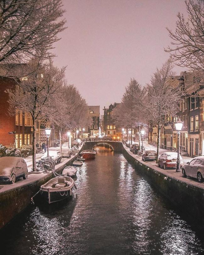 Vương quốc mùa đông thêm lung linh ảo diệu dưới trời mưa tuyết - 5