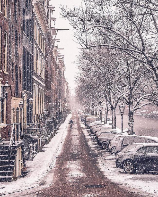 Vương quốc mùa đông thêm lung linh ảo diệu dưới trời mưa tuyết - 8