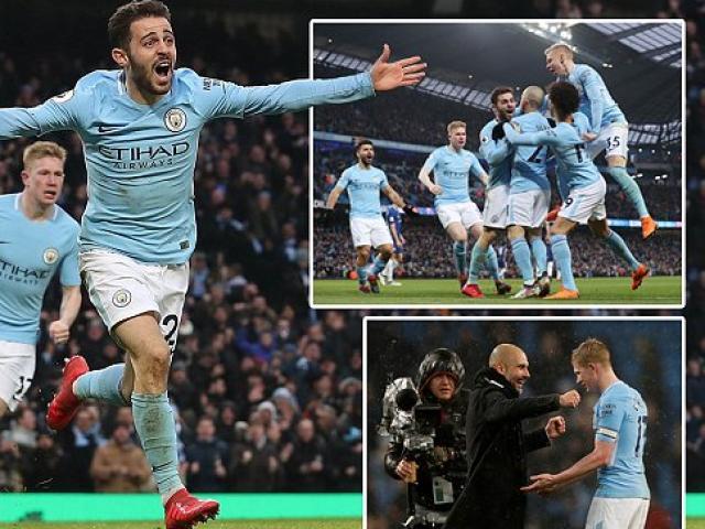 Man City vô đối Ngoại hạng Anh: Pep mơ mưa kỷ lục vượt MU – Chelsea 4