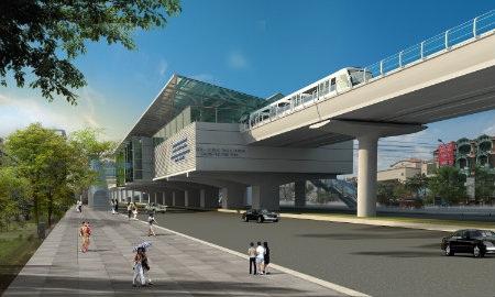 Chắn đường thi công ga ngầm Cát Linh: Dân đi đường nào khỏi tắc?