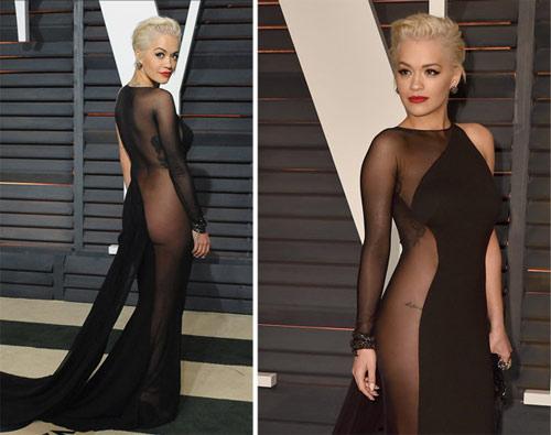 """Đã """"tìm ra"""" bộ váy lộ 80% cơ thể, sốc nhất lịch sử thảm đỏ Oscar!"""