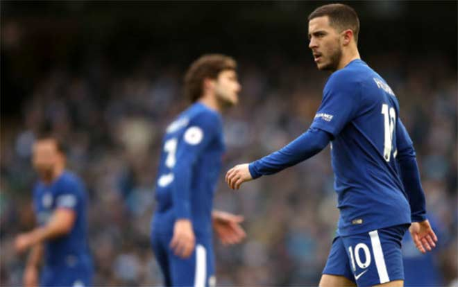 """Góc chiến thuật Man City – Chelsea: """"Thiên tài sa cơ"""" Conte 2"""