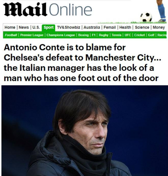 """Báo chí Anh: Chelsea là """"tội ác"""" với bóng đá, Conte xứng đáng bị sa thải 1"""