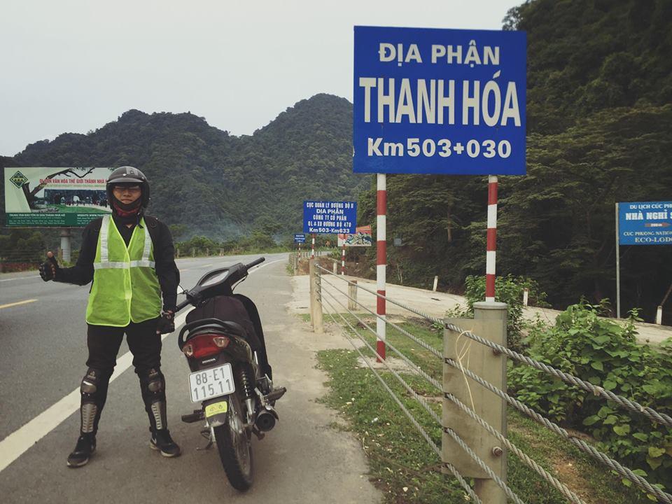 Chàng trai 9X Vĩnh Phúc phượt xuyên Việt chỉ với 4 triệu đồng - 2