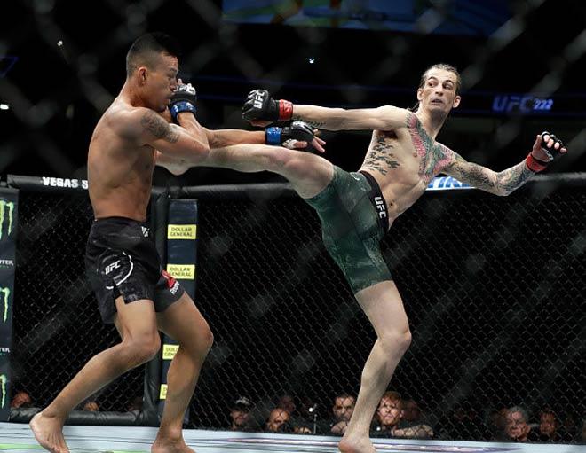 Chiến binh UFC: Gãy chân suốt 4 phút vẫn đánh bại đối thủ 1