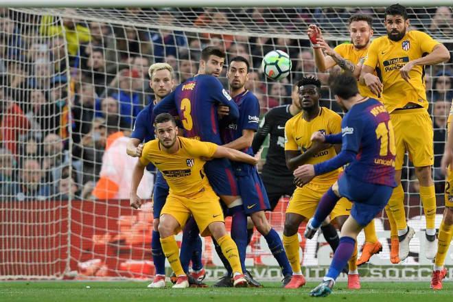 Góc chiến thuật Barca – Atletico: Messi tìm đường sống từ bóng chết - 2