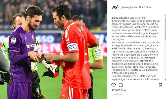 SAO Fiorentina qua đời, Serie A hoãn đấu: Huyền thoại tiếc thương, châu Âu xót xa - 3