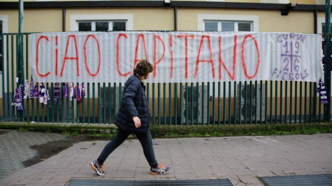 SAO Fiorentina qua đời, Serie A hoãn đấu: Huyền thoại tiếc thương, châu Âu xót xa - 13