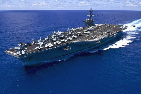 Tàu sân bay Mỹ đến Việt Nam: Từng chôn xác Bin Laden trên biển