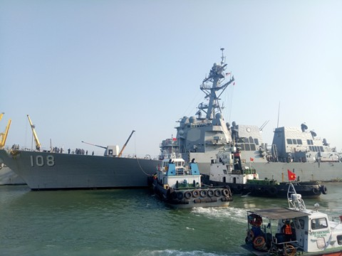 Tàu sân bay USS Carl Vinson đến Đà Nẵng: Mỹ ủng hộ Việt Nam vững mạnh, độc lập - 2