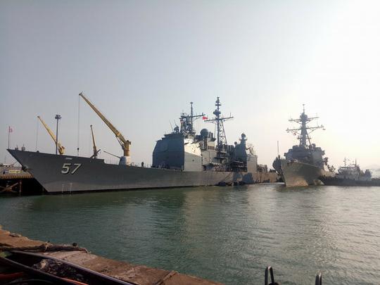 Tàu sân bay USS Carl Vinson đến Đà Nẵng: Mỹ ủng hộ Việt Nam vững mạnh, độc lập - 4