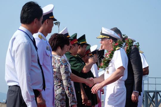 Tàu sân bay USS Carl Vinson đến Đà Nẵng: Mỹ ủng hộ Việt Nam vững mạnh, độc lập - 5