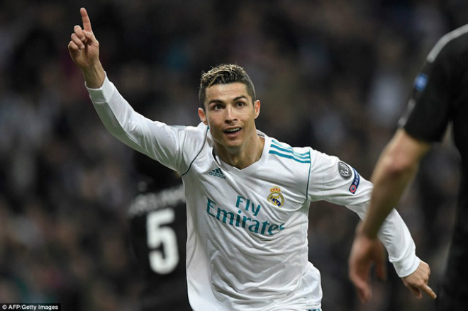 """Lượt về vòng 1/8 cúp C1: """"Vua knock-out"""" Ronaldo gầm thét, PSG run rẩy"""