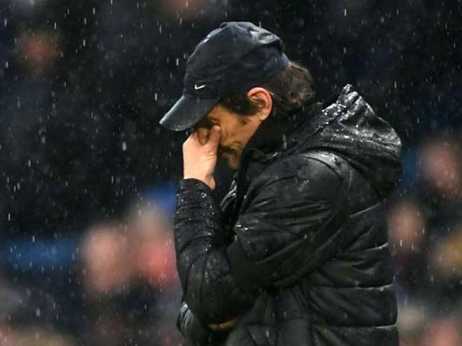 Chelsea sút trúng không nổi một quả, Conte bào chữa chiến thuật 1