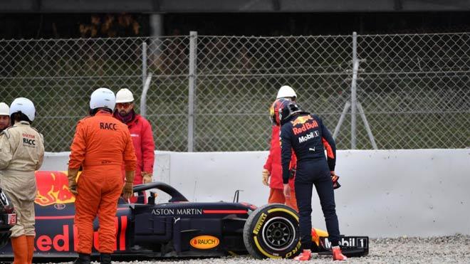 Đua xe F1 2018, thử xe đầu tiên: Khốn khổ vì mưa tuyết, sức mạnh bộc lộ 3