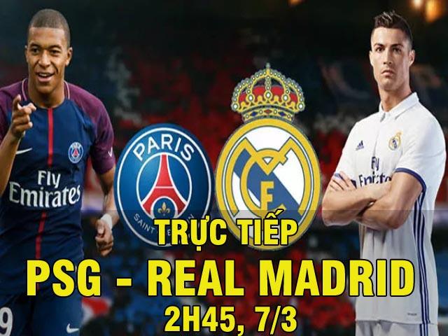 PSG - Real Madrid: Đôi công hấp dẫn, thót tim siêu sao (Hiệp 1) 2