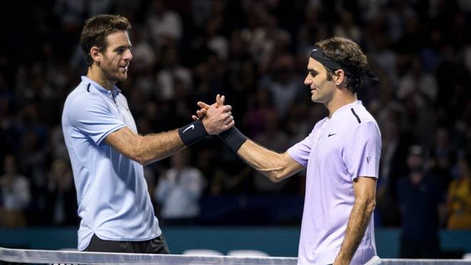 "Indian Wells: Vắng Nadal, Federer vẫn còn đụng ""kỳ đà"" Del Potro"