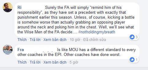 MU - Mourinho đá chai nước, nguy cơ lỡ đại chiến Liverpool: Fan bênh vực 2