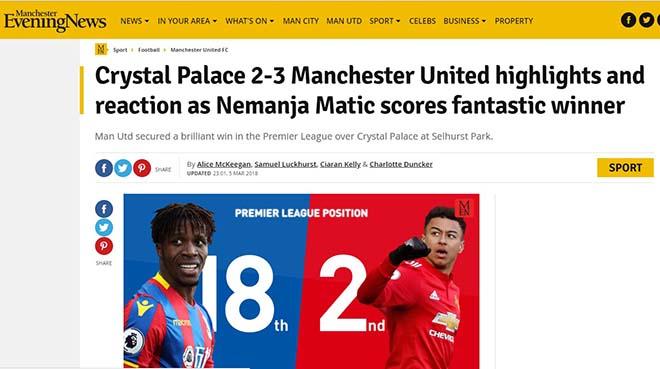 """MU ngược dòng: Báo Anh khen Mourinho """"thiên tài"""", ngả mũ Matic kỳ diệu 4"""