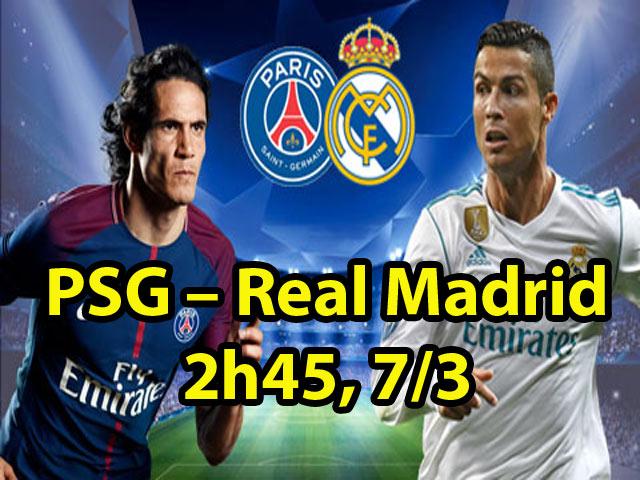 TRỰC TIẾP bóng đá PSG - Real Madrid: Mbappe vẫn đá, Bale dự bị 26