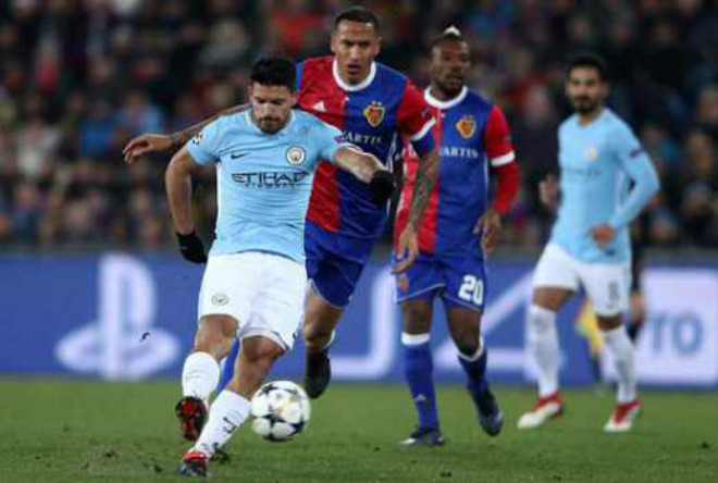 TRỰC TIẾP bóng đá Man City - Basel: Chủ nhà và Aguero chờ tạo lịch sử 19